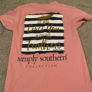 Pink Simply Southern t-shirt
